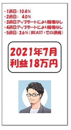 2021.7 ビーストEA 実績